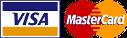 MasterCard - Visa Logos